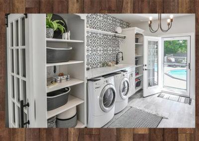 Laundry Room & Outdoor Deck