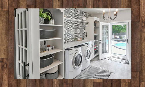 Laundry Room & Outdoor Deck