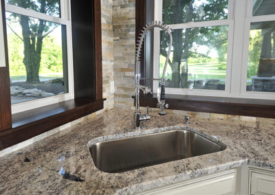 granite sink staineless